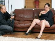BBW cutie plowed after pictures