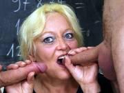 Horny sex in her classroom