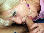 Pussy pounding grandma