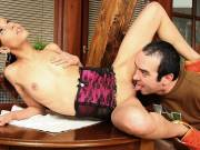 Pleasurable dick does her cheating hole